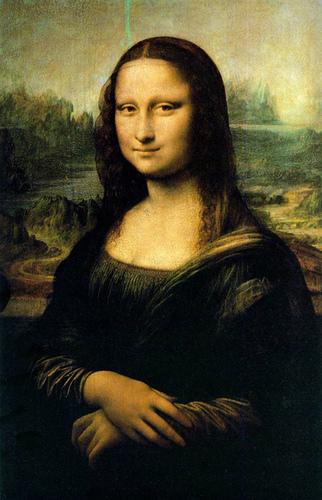The Mona Lisa by Leonardo DaVinci