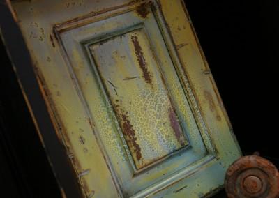 Multi-Step Painted Distressed Door