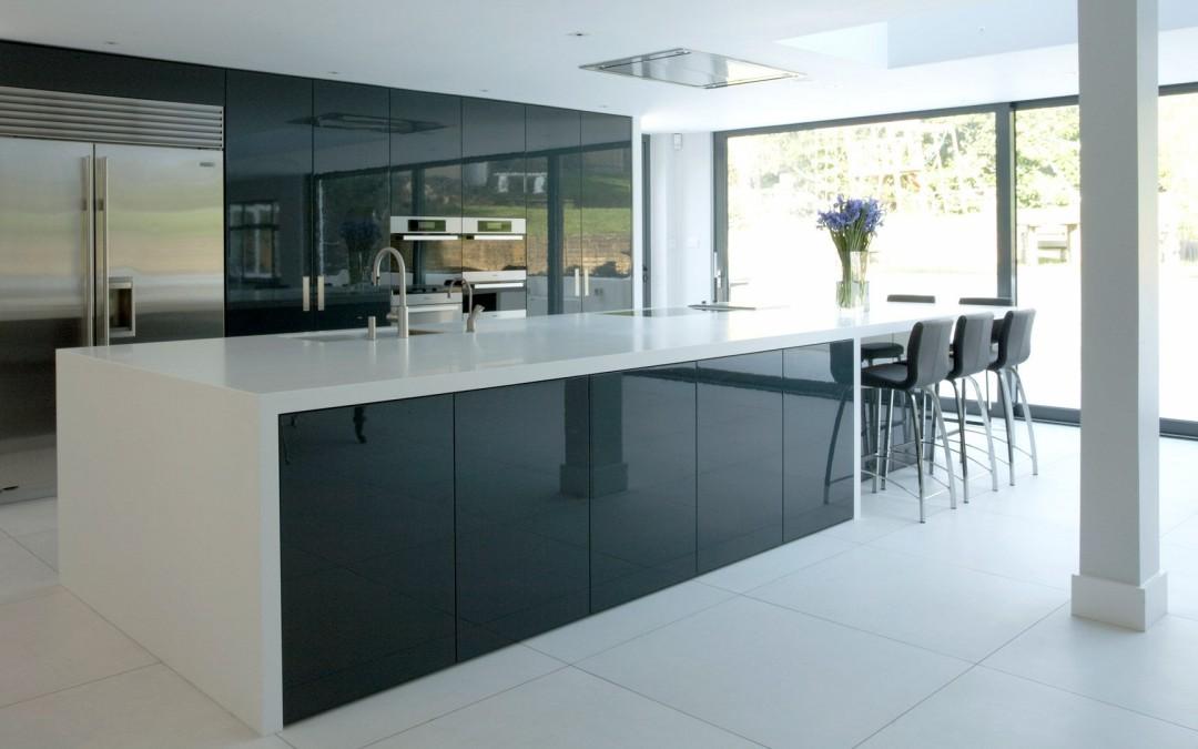 high gloss cabinets