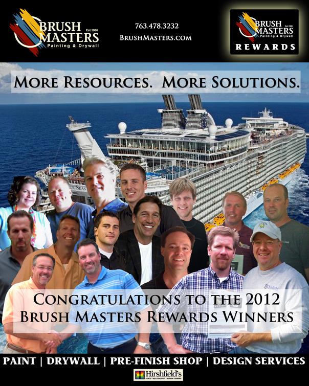 Brush Masters Rewards Winners